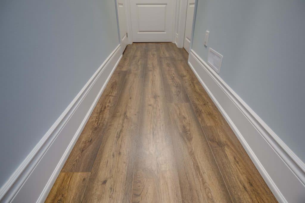 basement hallway flooring