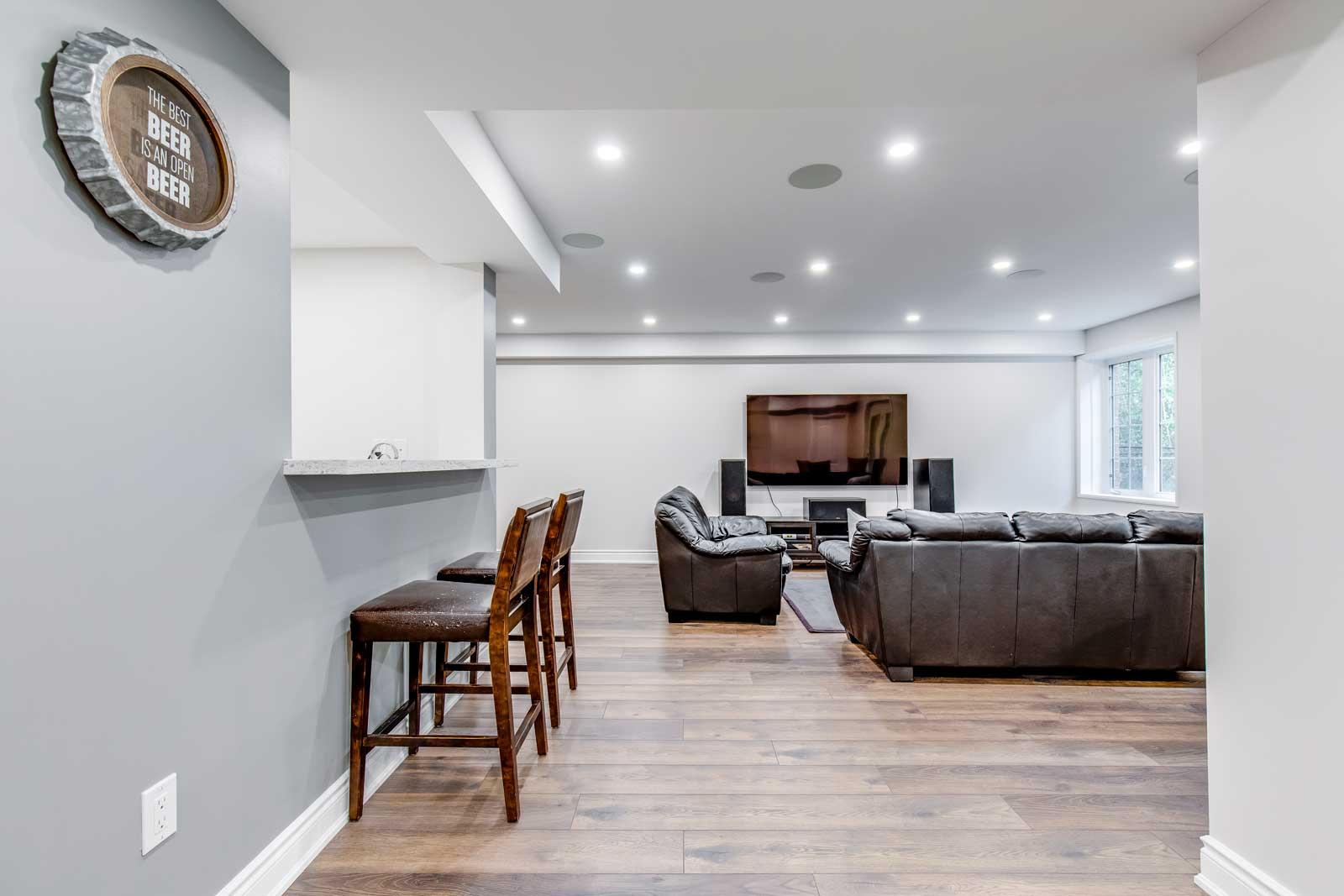 Basement Finishing & Renovation