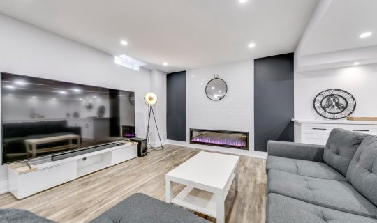 Basement Renovation in GTA