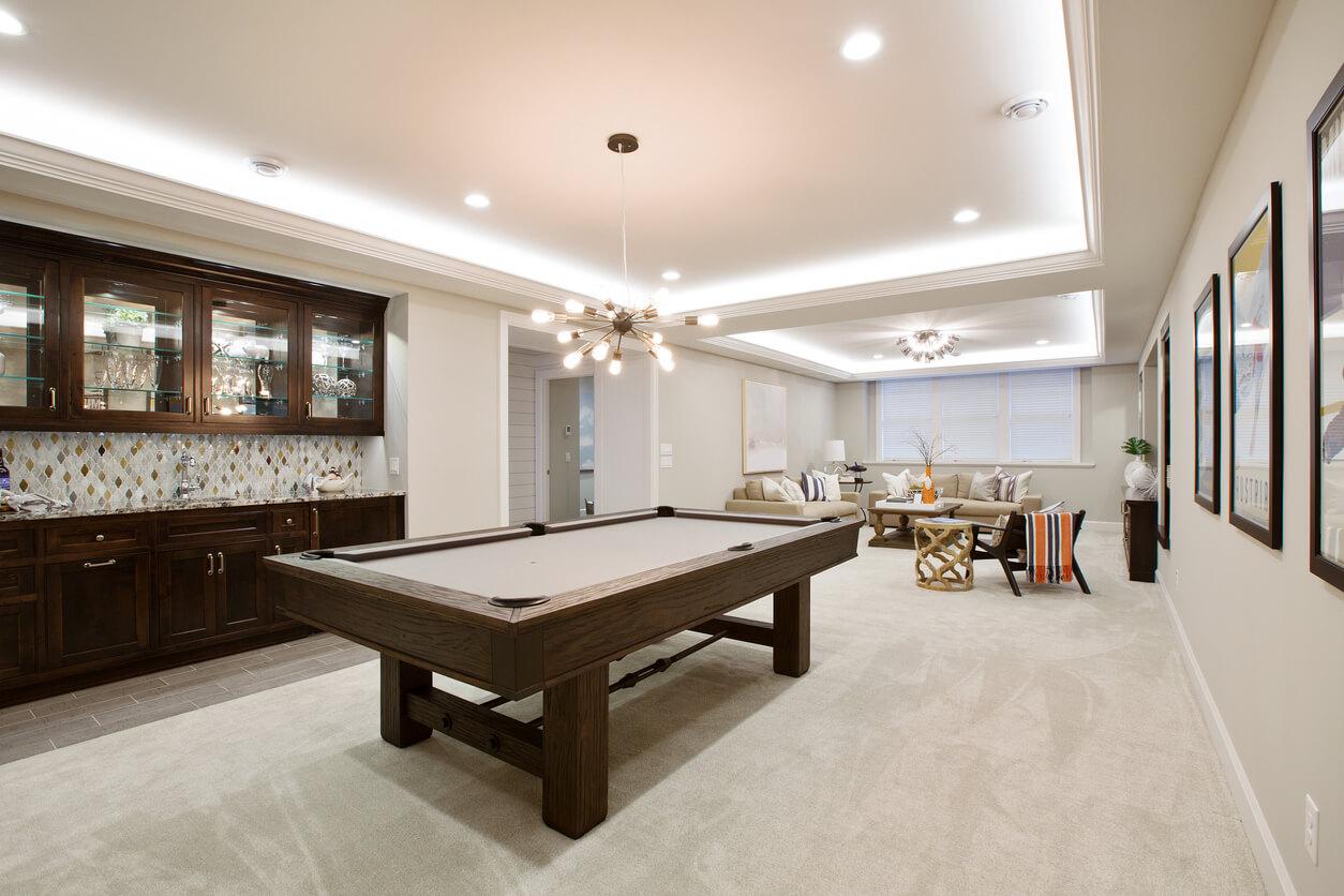 Basement Game Room Renovation