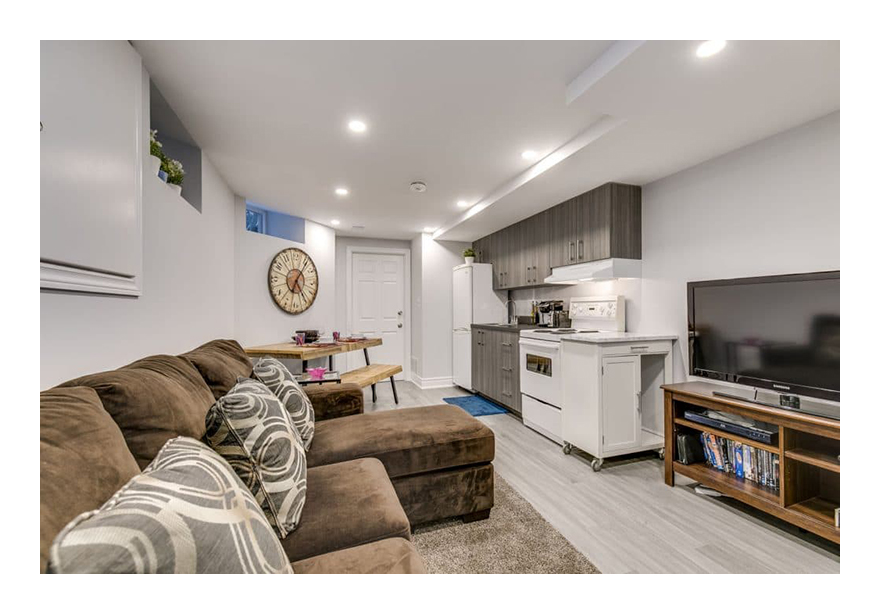 Legal Basement Apartment Toronto